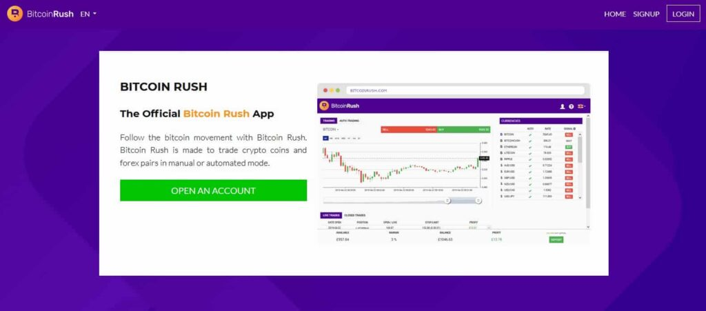 bitcoin rush review